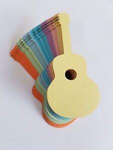 Guitar-Die-Cut-Outs-Scrap-Booking-Embellishments-Decoupage-Party-Decoration