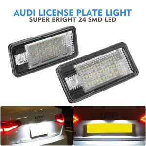 2x-LED-SMD-TARGA-LUCE-TARGA-Audi-A3-S3-A4-A6-S6-A8-8E0807430A-8E0807430B