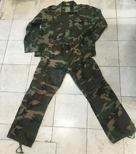 Ultra Force US Army Field Jacket Buttons Down Coat Camo ...