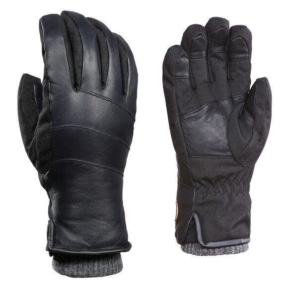 Kombi Men's Distinguished Leather Ski Gloves X-Large Insulated Waterproof