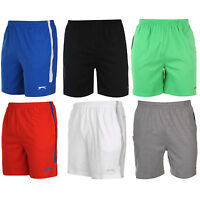 Slazenger Kurzhose Bermuda Shorts Sporthose Hose schwarz NEU Jersey