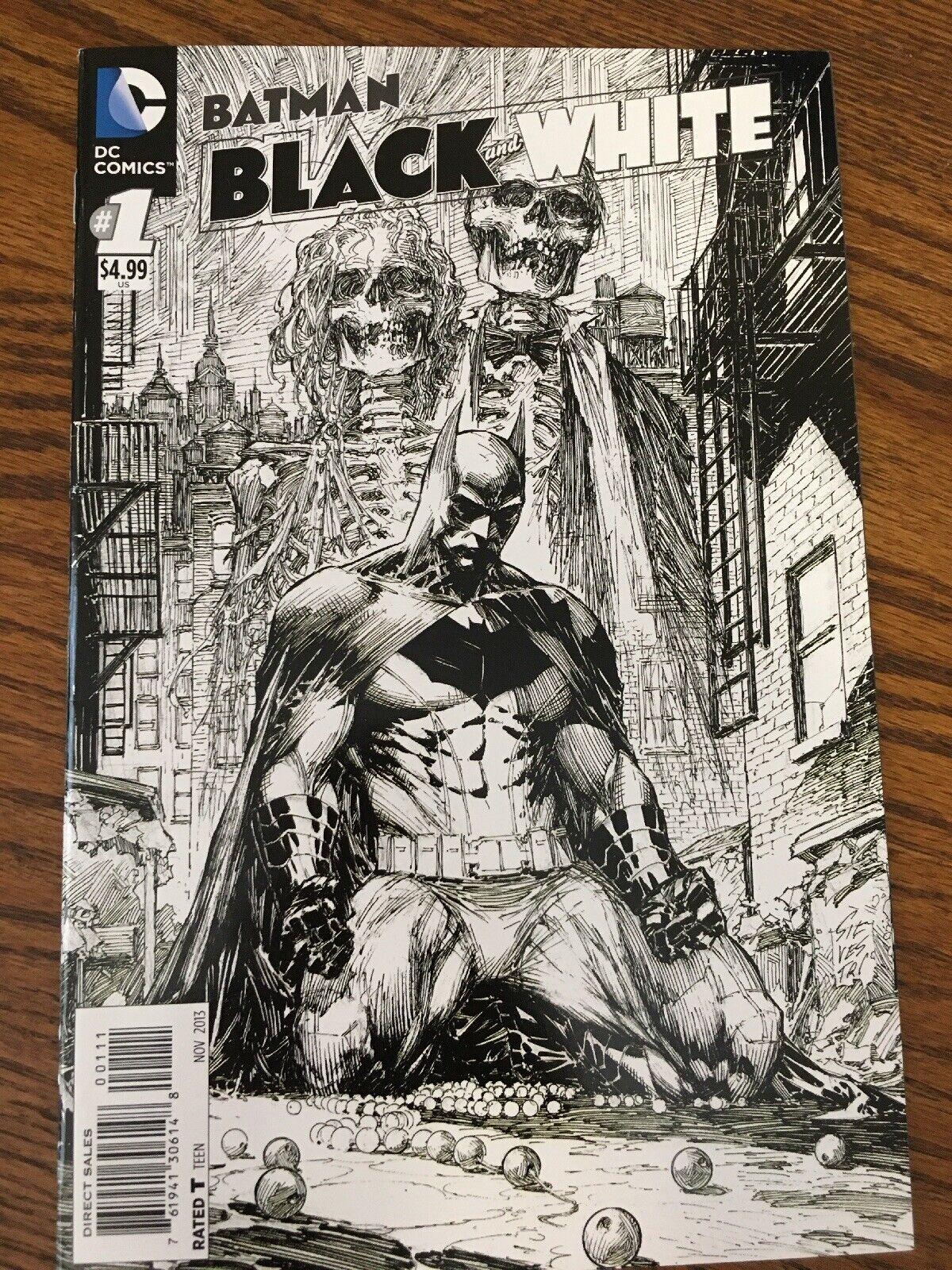 BATMAN BLACK AND WHITE #5 NEAR MINT 2013