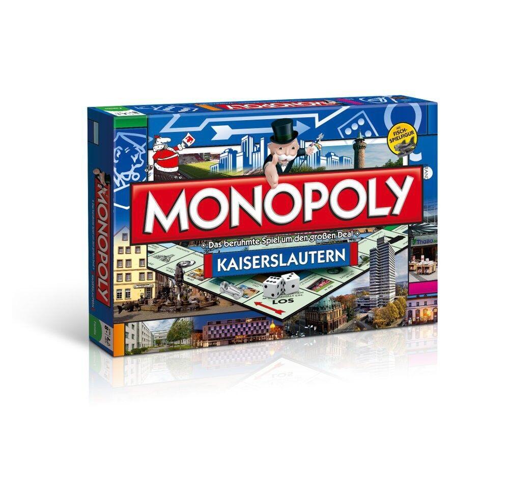 Monopol stadtedition city edition stadt kaiserslautern - spiel brettspiel