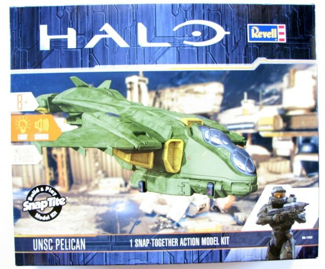 Revell Halo UNSC Pelican Drop Ship 1:100 Scale Snap-Together Action Model Kit