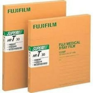 HRU-810-FUJI-GREEN-X-RAY-FILM-8-X-10-New-Box-of-100-Sheets