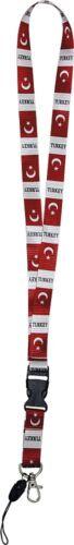 071XX Länder Schlüsselband NEU Schlüsselanhänger Keyholder Türkei • TURKEY •