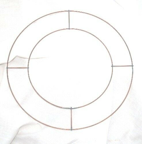 """20 x 8/"""" WIRE RINGS FOR CHRISTMAS XMAS MEMORIAL WREATHS"""