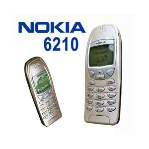 TELEFONO-CELLULARE-NOKIA-6210-GOLD-ORO-GSM-CANDY-BAR-USATO