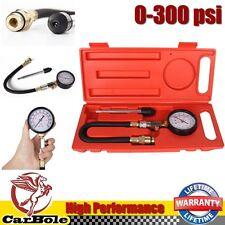 Auto Truck Motor Engine Gasoline Compression Cylinder Gauge Tester Tools 300psi
