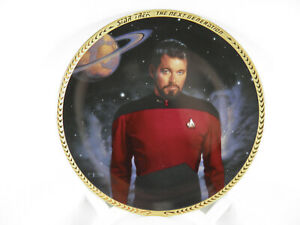 Star-Trek-Commander-William-T-Riker-Plate-2132-E-W-CERT