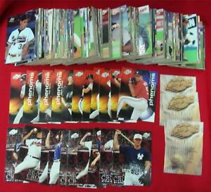 1996-FLEER-EXCEL-MINOR-LEAGUE-BB-SET-SEASON-CROWNS-amp-1st-YEAR-PHENOMS-SETS