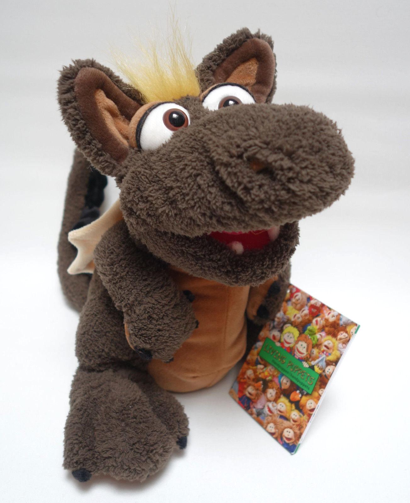 Living Puppets  Handpuppe  Drache Möbius  ca.30 cm  NEU  | Ideales Geschenk für alle Gelegenheiten