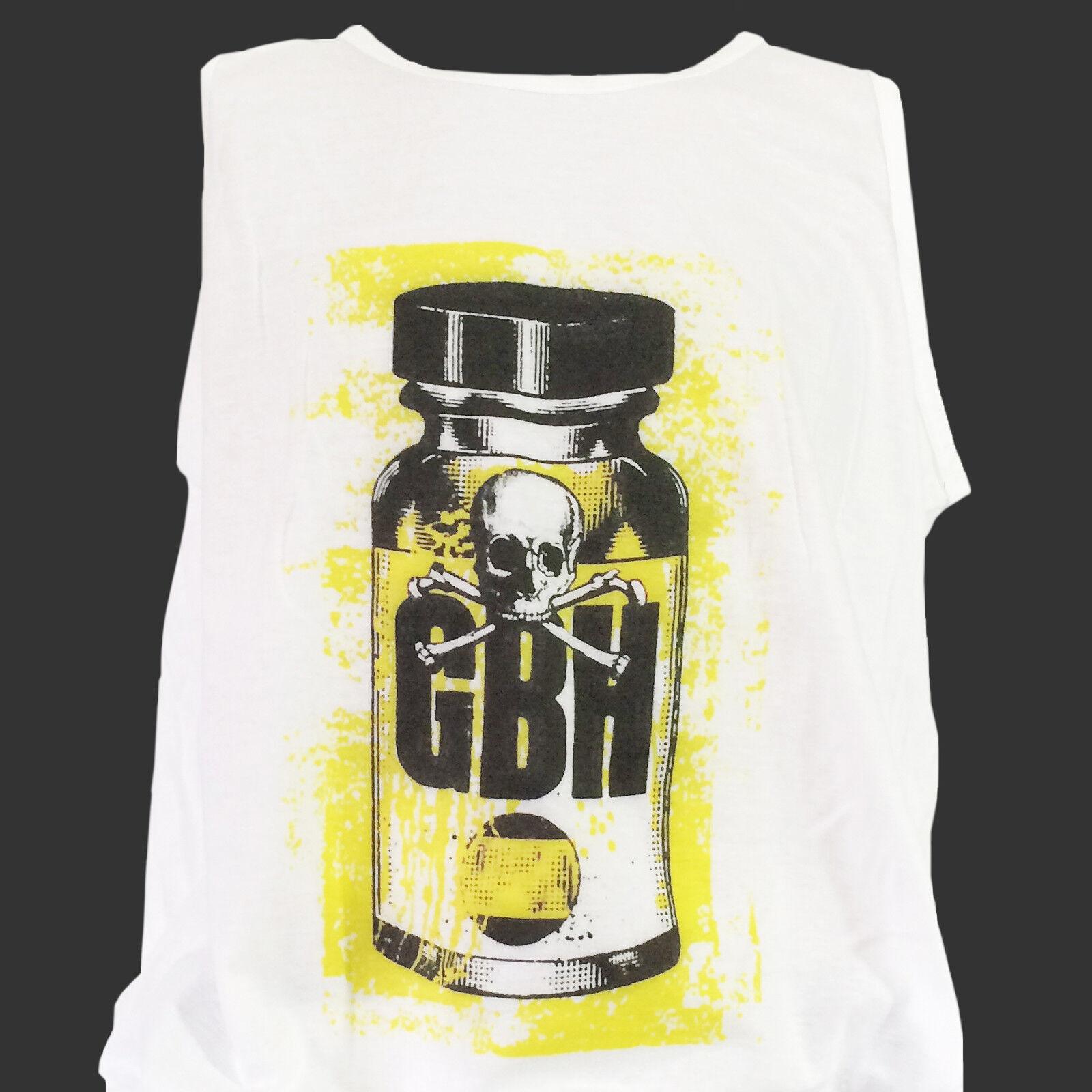 GBH Punk Rock Rock Rock Hardcore T-shirt décharge UK Subs grossiers S M L XL 2XL Débardeur d2a884