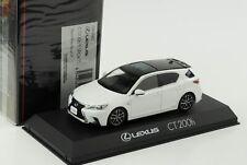 Lexus CT200h F Sport black White Nova GF 1:43 Kyosho diecast