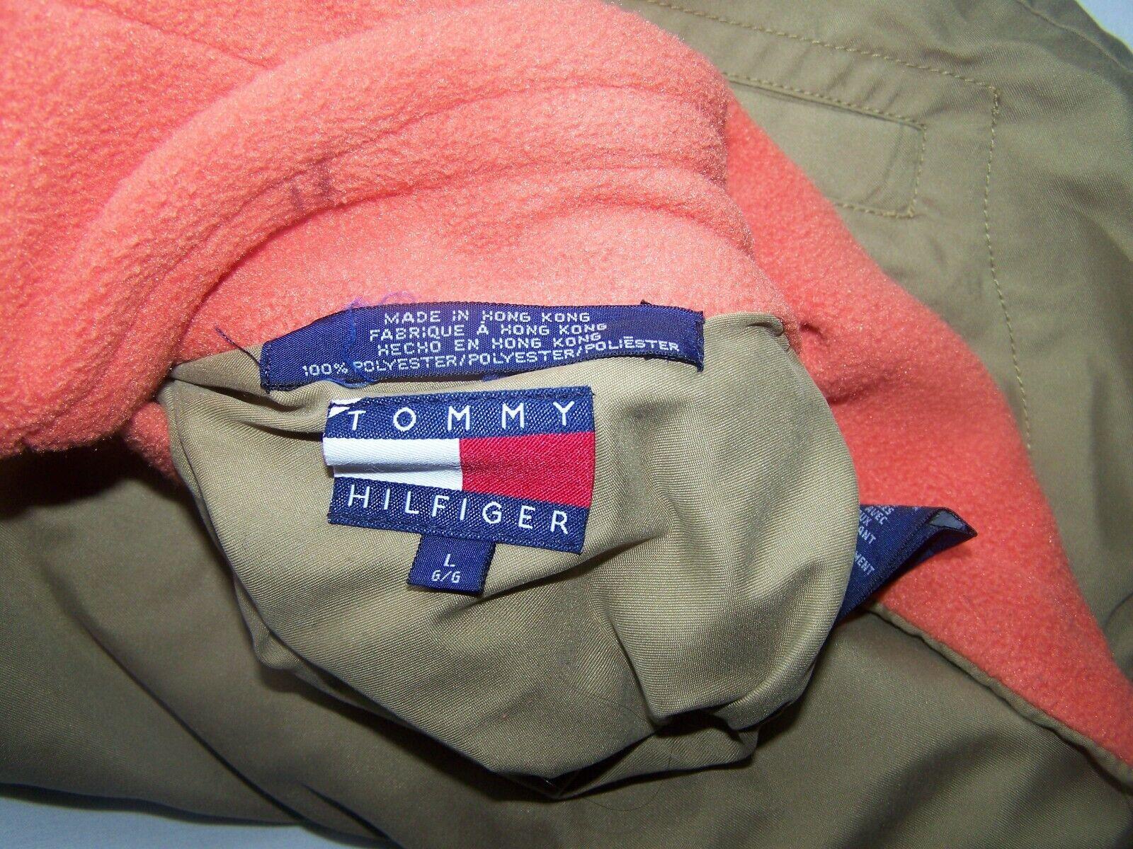 Tommy Hilfiger Vest Reversible Large Orange - image 8