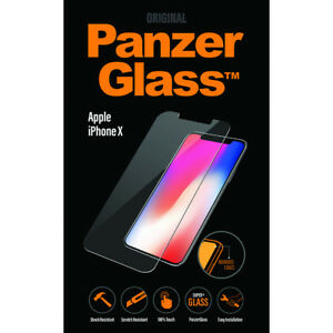 New-Genuine-Panzer-Glass-2622-Apple-iPhone-XS-Glass-Screen-Protector