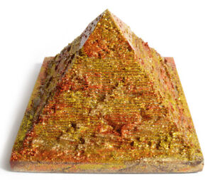 Orgone orgonite pyramid - EMF protection, Tesla,chakra ...