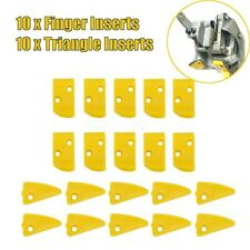 20pcs Fingeramptriangle Leverless Inserts Protector For Corghihunter Tire Changer
