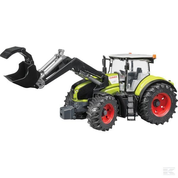 Bruder Bruder Bruder Claas Axion 950 With Loader - U03013 330a98