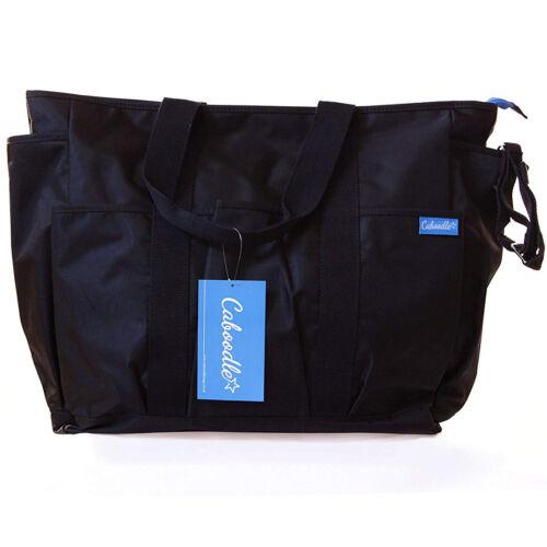 Caboodle Baby Changing Bag Black Shoulder Nappy Yummy Mummy Hospital Maternity