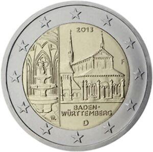 2 EURO COMMÉMORATIVE D'ALLEMAGNE 2013 J - BADE-WURTEMBERG