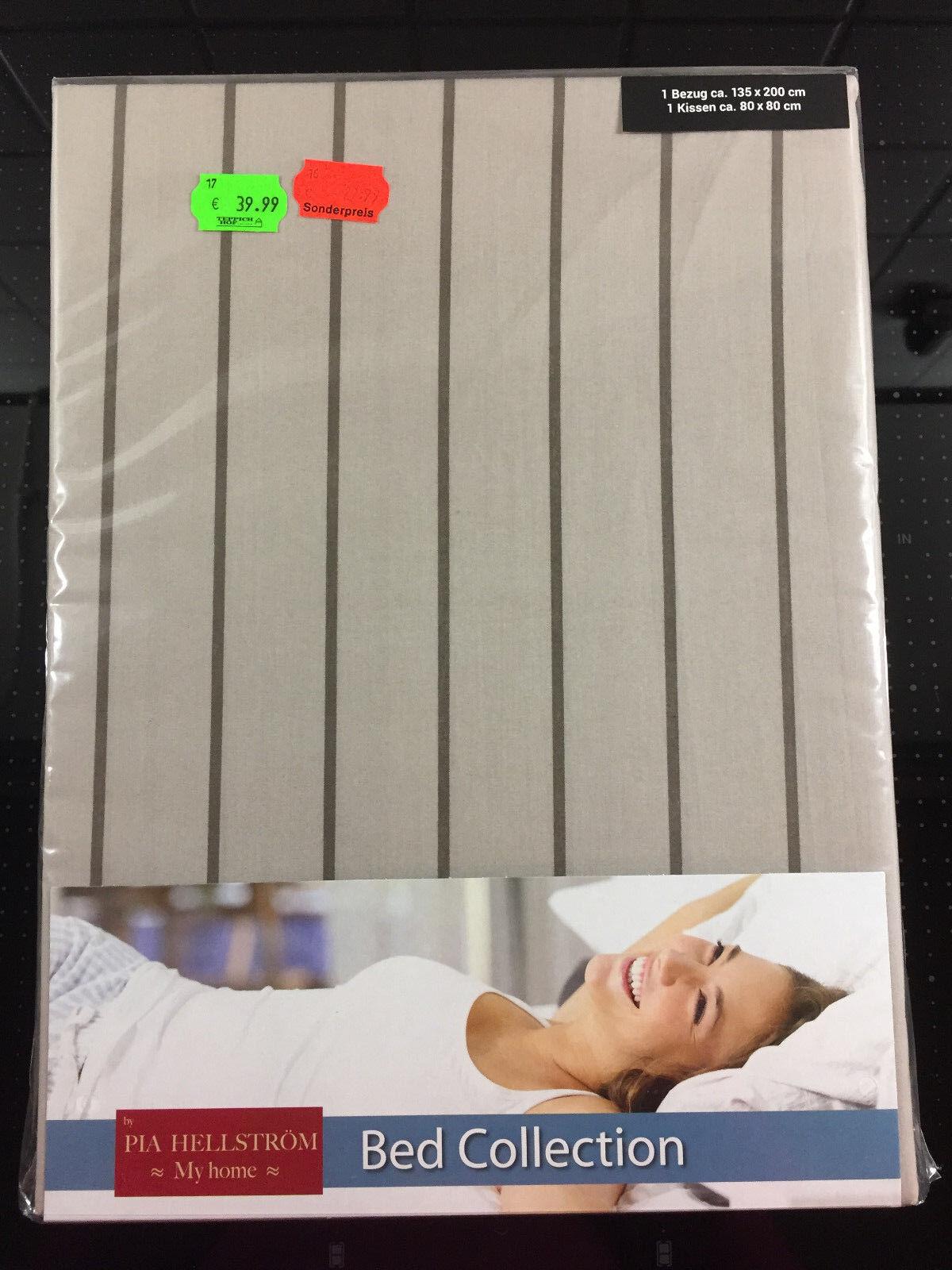 Bettwäsche für 2 Personen  135 x 200   NEU   | Einfach zu bedienen