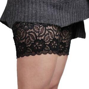 Femme-Chaussettes-elastiques-d-039-ete-Anti-friction-Bandes-de-cuisse-Empecher