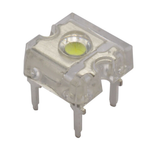 10 HuiYuan 9355W2C-HSB-B LEDs 3mm Super Flux LED weiss klar 2000mcd  858896