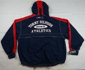 6f2771bc3 Rare VTG TOMMY HILFIGER Division 088 Athletics Spell Out Jacket 90s ...