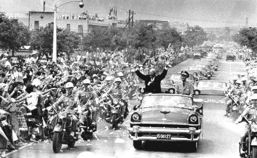 Eisenhower 1960-Chiang Kai-shek the Republic of China Meets President Dwight D