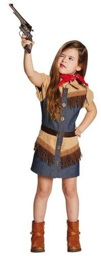 Cowgirl Kostüm Greta NEU Mädchen Karneval Fasching Verkleidung Kostüm