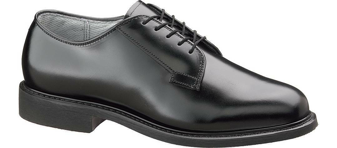 NEW W/BOX Uomo Uomo Uomo BATES BLACK LEATHER UNIFORM OXFORD SHOES 11E 809fce