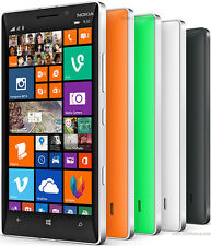 "NOKIA Lumia 930 4g 5"" 32gb 20mp Windows Phone 8.1 Smartphone SIM Gratis in 4 COLORI"