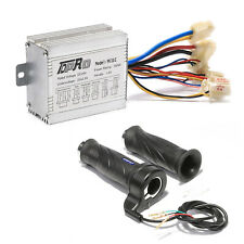 24v 350w Dc Electric Speed Controller Brushed Motor Throttle For Scooter E Bike