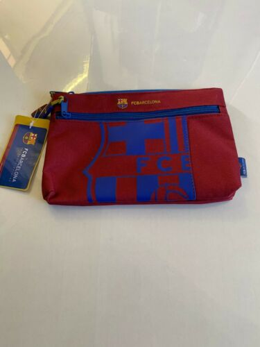 School Stationery//Gift BARCELONA PENCIL CASES Official Football Club