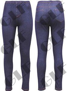 Mujer Alta Cintura Ajustados De Jean Tipo Jeggings Damas Ajustado Pantalones Elastizados Suaves Denim Ebay