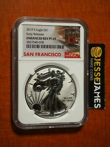 2019-S-ENHANCED-REVERSE-PROOF-SILVER-EAGLE-NGC-PF69-EARLY-RELEASE-TROLLEY-W-OGP