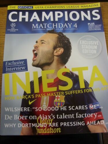 06112012 Champions League The Official Champions League Magazine Match Day