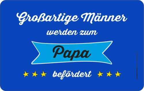 """Original RAHMENLOS® Schneidebrettchen Frühstück /"""" Großartige Männer /""""  #7347"""