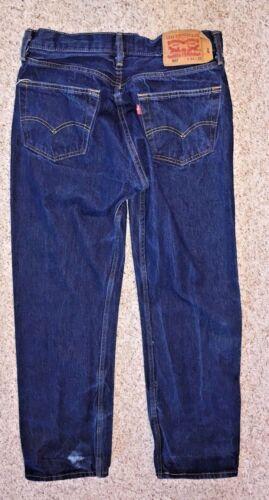 Mouche Taille Levi's Jeans Bouton 34 5 Original 27 Homme 501 Droite Coupe X qAgFpq0