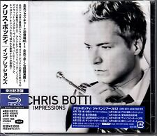 CHRIS BOTTI Impressions 2012 Japanese 13-trk promo sample SHM-CD SEALED Knopfler