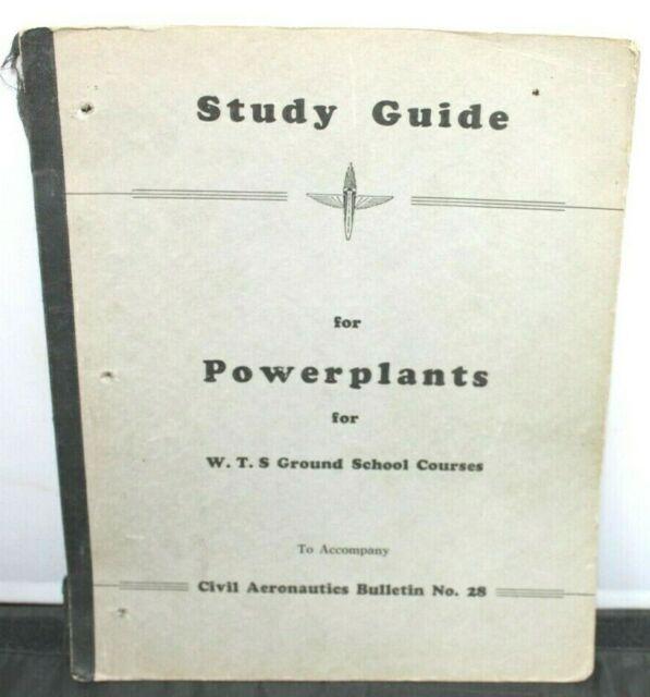 War Training Service Program Study Guide For Power Plants