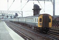 Original Colour slide, Class 126 DMU, Sc79088, Glasgow Central, Aug 78