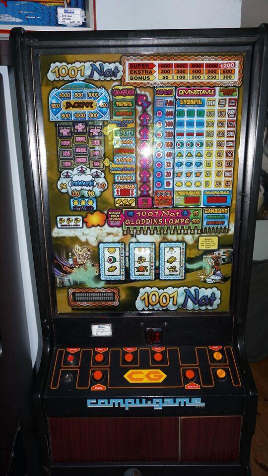 compu-game, spilleautomat, God