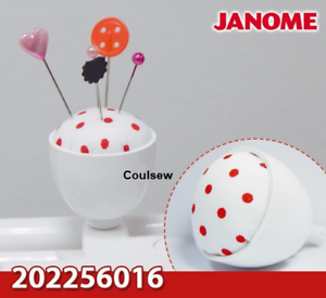 FIT MOST JANOME MACHINES 202256016 JANOME GENUINE SMALL PIN CUSHION