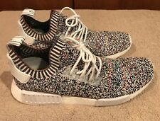 promo code 05b48 91f3d ADIDAS NMD R1 PK Mens 11 US STATIC Multi Colored Primeknit New wout Box