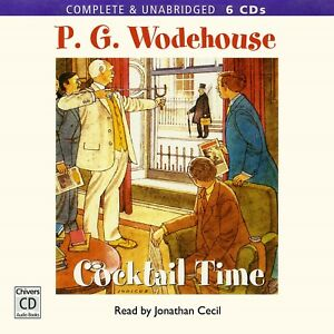 Cocktail-Time-by-P-G-Wodehouse-Unabridged-Audiobook-6CDs