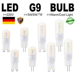 DE G9 LED Leuchtmittel 3W 5W 7W Glühbirne ersetzen