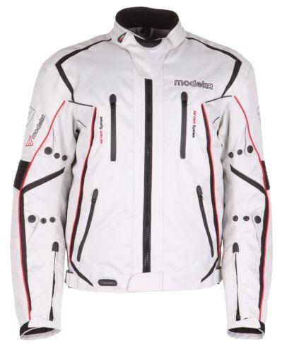 Hommes Moto Veste Mistral sport motard moto Veste Hommes Vêtements Gris