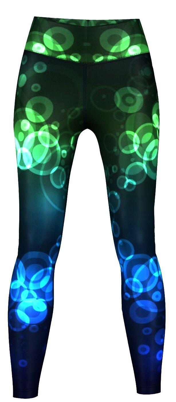 Crux Leggings sehr dehnbar für Sport, Gymnastik, Training & Fashion Mehrfabrbig
